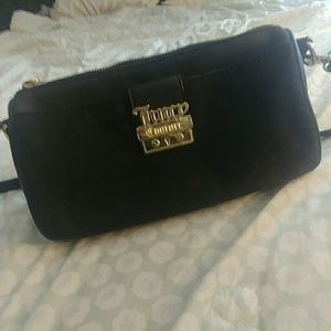 Juicy Couture Small Black Crossbody Purse
